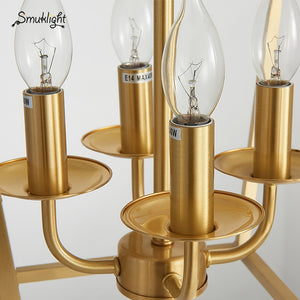 Golden Copper Geometric Cube Pendant Light Lamp LED Creative Diamond Square Frame Simple Modern Brass Pendant Lamp