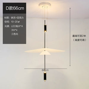 Flamingo Led Pendant Light Art Deco Spain For Dining Room Nordic Modern Lustre Acrylic Suspend Lamp Indoor Lighting Fixtures