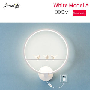 Hotel Wall Light Indoor Black White Wall Lighting Minimalist Art Sconce Interior With Angel Home Decoration Wall Lamps