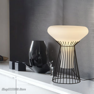 Italian Design Table Lamp Light Simple Modern LED Tafellamp Bedside Desk Lamp For Bedroom Living Room Kids Reading Table Lights