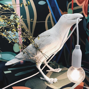 Italian Seletti Bird LED Wall Lamp Nordic Living Room Home Decor Lamp Bird Wall Light Animal Bird Lamp Bird Light Fixtures