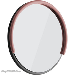 Mirror Headlights Nordic Creative Simple Personality LEDwall Light Bedroom Bathroom Macaron Wrought Iron Round Mirror Wall Lamp
