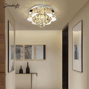 Modern Crystal Ceiling Light Decorative Living Room Crystal Ceiling Lamp Corridor Light Aisle Lighting Lamps