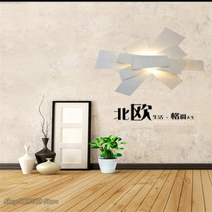 Modern Foscarini Wall Lamps White Acrylic Ceiling Lights Nordic Creative Dining Room LED Home Decor Lighting Fixtures Luminarias