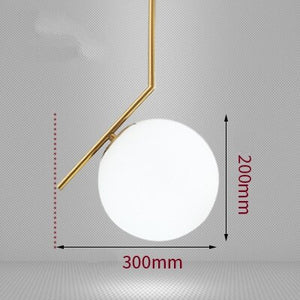 Modern Glass Ball Pendant Light Kitchen Hanging Lamps Hang Lamp Nordic Home Decor Light Fixtures Christmas Decorations For Home