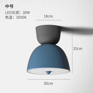 Modern LED Ceiling Light Nordic Adjustable Angle Creative Ceiling Lamp Fashion Art Restaurant Bedroom 220V Ceiling Lamp Fixtures