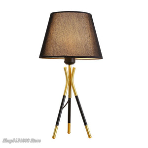 Modern Nordic Led Table Lamp Fabric Desk Lights For Living Room Bedroom Bedside Stand Desk Lamps Study Light Fixtures Home Decor