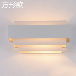Modern Wall Lamp Led Mirror Sconce For Home Lighting Decoration Luminaire Bedroom Bedside Lamp Indoor Stair Wall Lights Fixtures