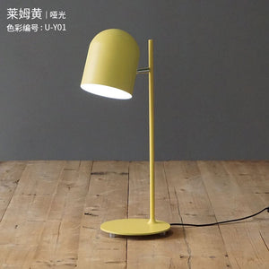 Modern Led Table Lamps Nordic Minimalist Creative Living Room Bedroom Bedside Decorative Desk Lamps Study Table Lights Fixtures