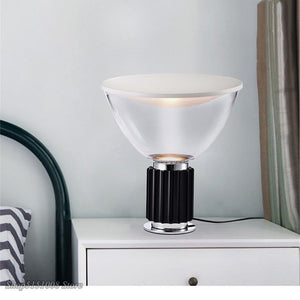 Nordic LED Table Lights Glass Shade Radar Desk Lamp Decoration Lamp Satellite Lamp Bedroom Bedside Lighting Table Lamp Fixtures