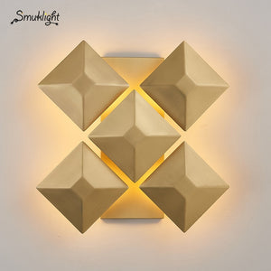Nordic Modern G4 LED Wall Light Art Fixtures Bedroom Bathroom Home Lighting Corridor Aisle Wall Lamp Sconce Luminaire