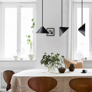 Nordic Multi-angle Tapered LED Pendant Lights Modern Living Room Bedroom Restaurant Kitchen Hanging Lamp Decor Lighting Fixtures
