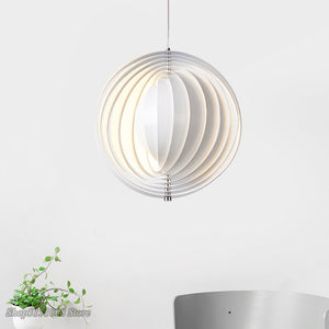Nordic Pendant Lights Design Personality Creative Rotation Art Pendant Lamp Bedroom Dining Room Bar Decor Hanging Light Fixtures