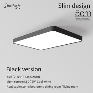 Ultra-Thin Square LED Ceiling Lighting Ceiling Lamps The Living Room Chandeliers Ceiling The Hall Modern Ceiling Lamp