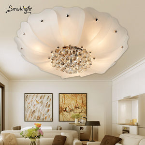 WhiteGold Frame Modern Led Ceiling Light Living Room Bedroom Dining Room Led Chandelier Ceiling Lamp Lighting Fixture