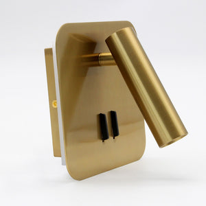 Backlit Lighting Wall Lamp Home Room Bedside Headboard Reading Lights Fixture Minimalism Room Deco Reading Wall Sconces