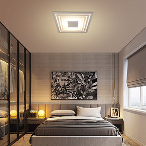 Room Ceiling Lights Square Ultra Thin LED Down Lights Iron AC110V 220V 6W 12W Down Light Ceiling Spot Lamp Bedroom Luz