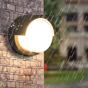 12W LED Wall Light Waterproof IP66 Outdoor Porch Light Modern LED Wall Lamp Courtyard Garden Corner Outdoor Lighting