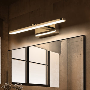 Led Mirror Wall Lights Bathroom Washer WC Mirror Light Wall Sconce Lamp 40cm 44cm 59cm Aluminum Easy Clean LED Lighting