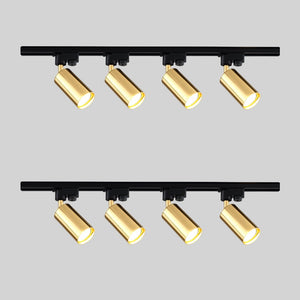 Led Track Light Aluminum Ceiling Rail Tracking Lighting Spot Rail Spotlights Replace Halogen Wall Sconces Lamps