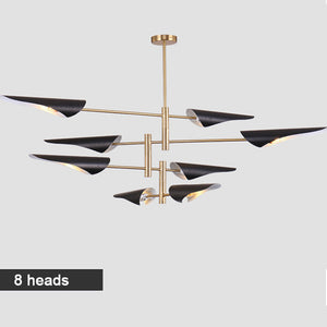 Led Chandelier Light 4 6 8 Heads Ceiling Install Indoor Lamp Home Hotel Loft Decor Led Chandeliers Lamp Modern Lampada