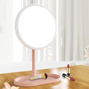 Led Mirror Light Makeup Backlit Mirror Lamp 3 Modes Color Temperature Touch Control Led Vanity Light Usb Battery Power