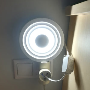 Modern Hallway Ceiling Lamp Indoor Light Home 220V 110V 6W 12W Round Led Downlight Ceiling Mount Stair Kitchen Lamp