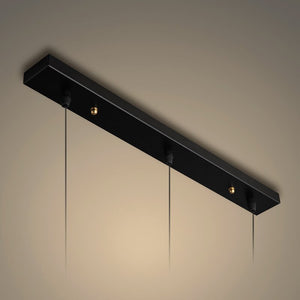 Modern Led Pendant Lamp Art Decor Aluminum Long Tube Pendant Light Dining Room Bar Kitchen Hanging Lamp Home Lighting Fixtures