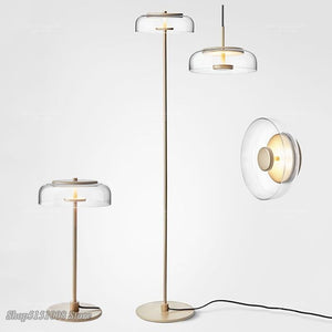 Modern Simple Pendant Lights Glass Ball Hanging Lamp Chrome Gold For Living Room Bedroom Design Art Home Decor Light Fixture