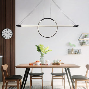 Led Pendant Light Nordic Living Room Dining Room Kitchen Hanging Lamp Luminaria White Black Gold Dimmable Lighting Fixtures