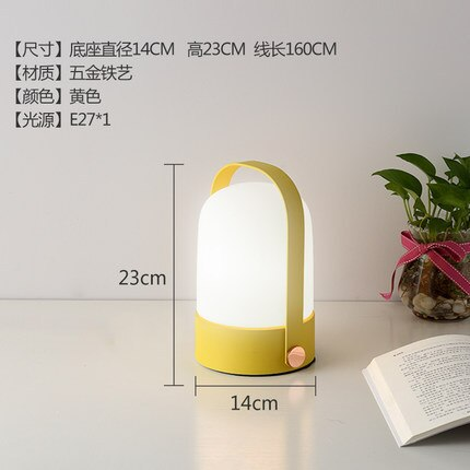 White Glass Table Lamp Nordic Mini Touch Switch Bedroom Bedside Study E27 Led Dimmable Switch Small Desk Lamps Glass Night Light