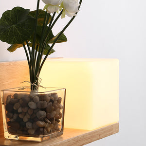 Modern Loft Decor Wall Lamp With Flower Pot Shelf Home Living Room Bedroom Dining Room Decoration Indoor Nightlight