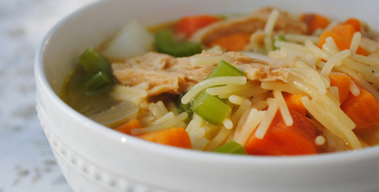 "Vegetarian ""Chicken"" Broth"