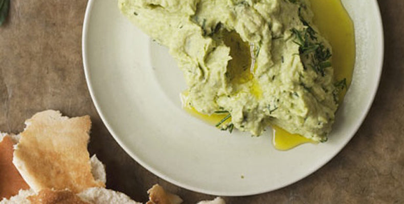 Dill and Fava Bean Dip