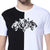 DC: Men's Three Tigers T-shirt (Black and White)|T-Shirts