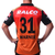 SRH: Men's Official Match Replica Jersey 2021 - Warner|Jerseys