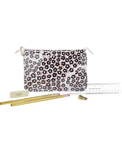 Kate Spade Pencil Pouch in Flair Flora