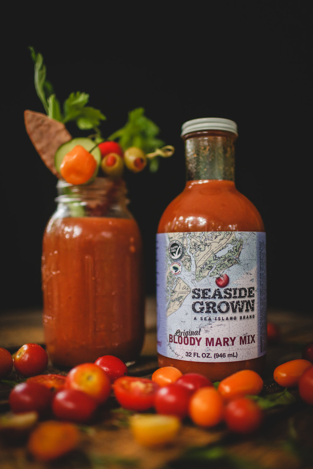 Seaside Grown Bloody Mary Mix 32oz