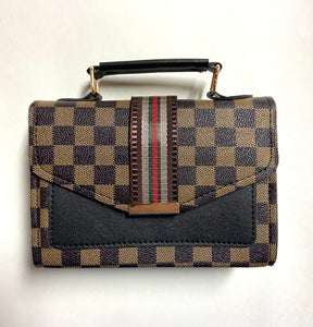 Gucci/Louis Vuitton inspired handbag