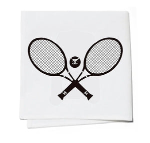 Cocktail Napkins Set of 4 - Chanel Tennis