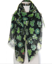 Load image into Gallery viewer, Shamrock Scarf