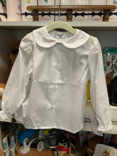 Load image into Gallery viewer, Bailey Boys Girls White Long Sleeve Button Down