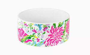 Lilly Pulitzer Dog Bowl