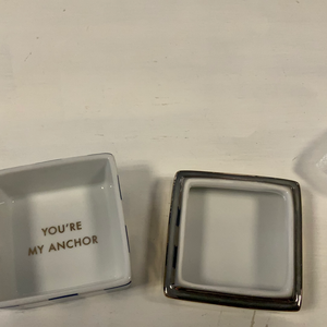 Small Anchor Jewelry Box