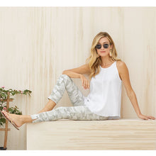 Load image into Gallery viewer, Mud Pie White Camo Pants