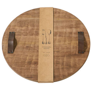 Mud Pie Round Cutting Board
