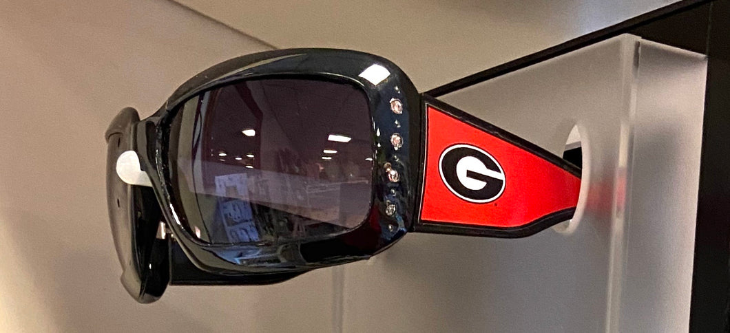 UGA Georgia Sunglasses Black