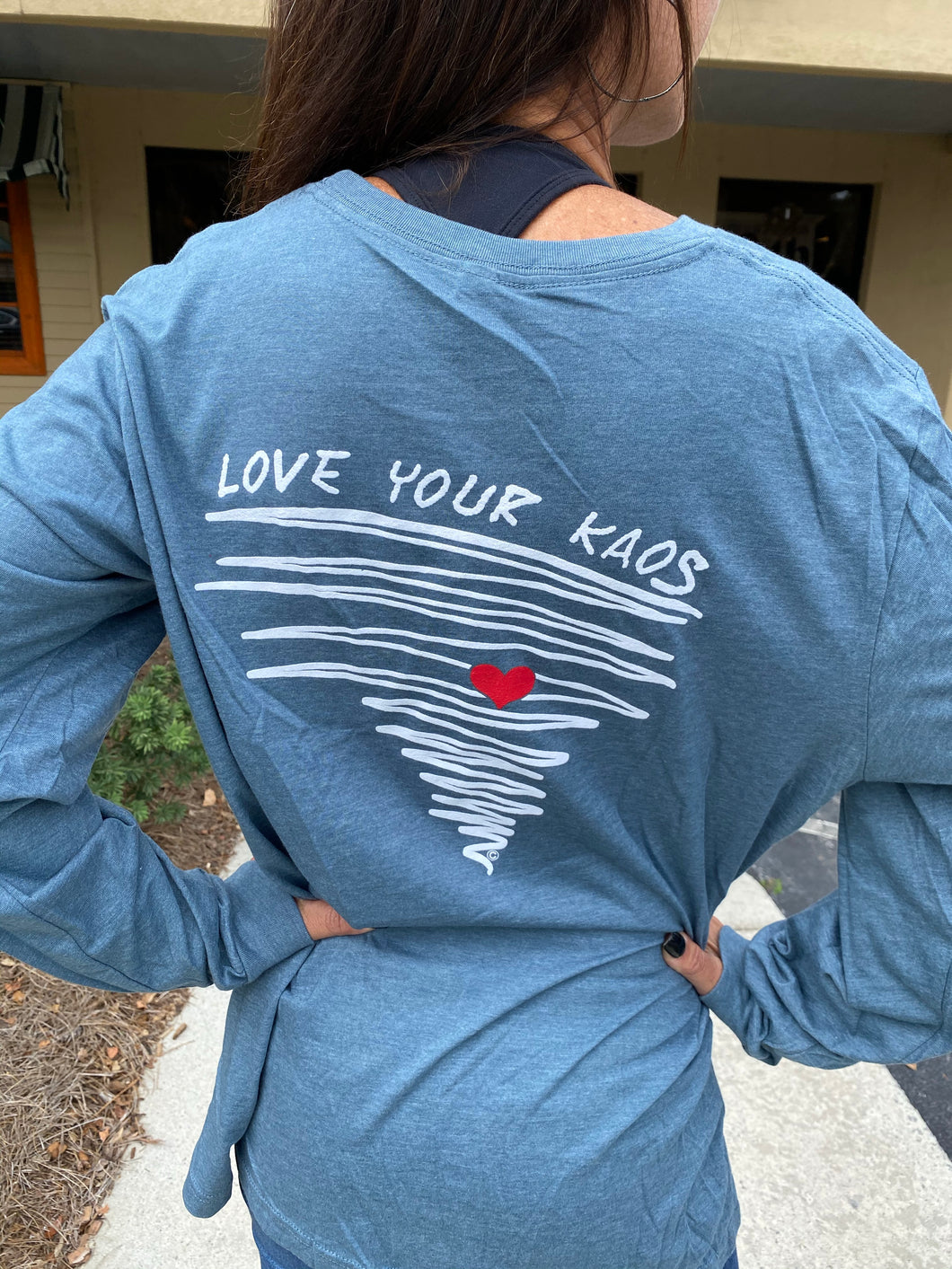 Long Sleeve 'Love Your Kaos' shirt