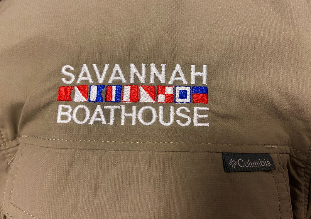 Savannah Boathouse Button Down Olive