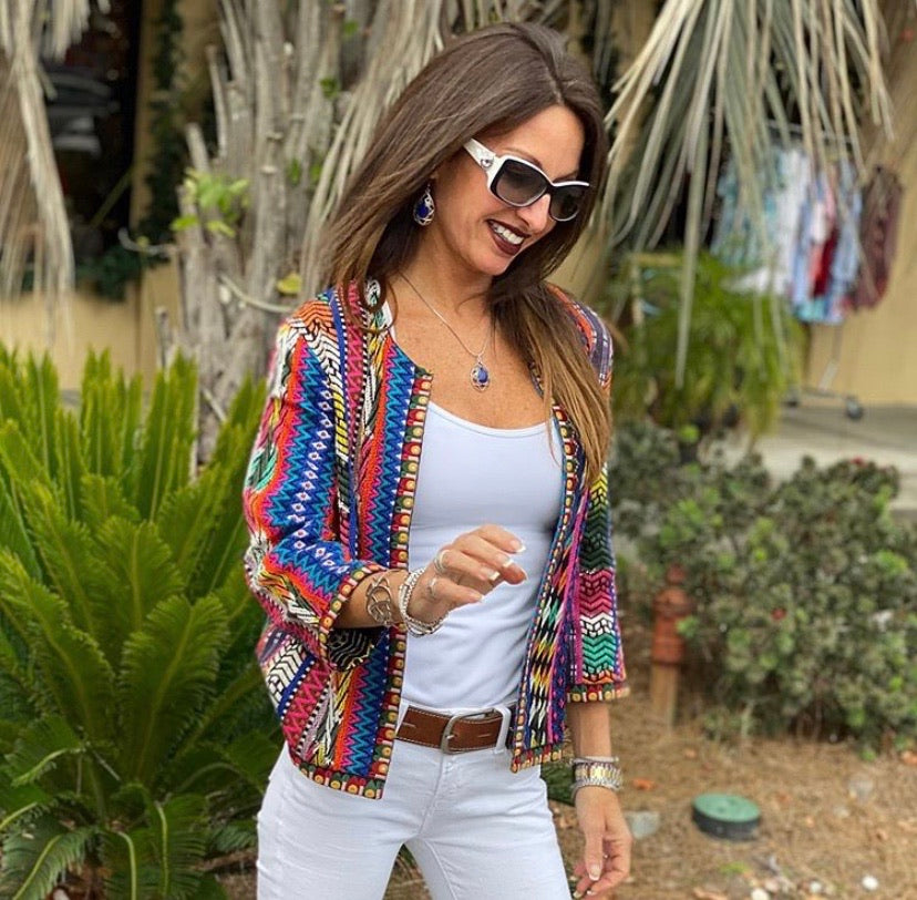 Sacred Threads Color Burst Jacket